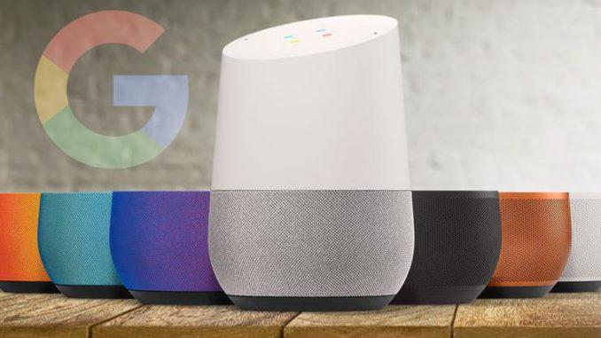 google home update